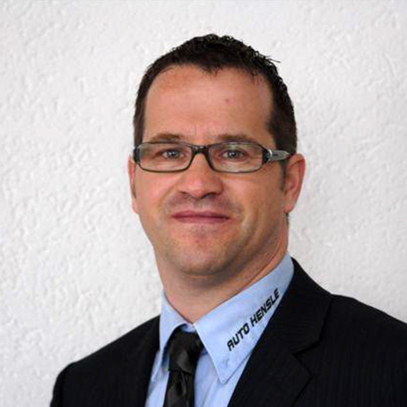 Geschäftsführer Marco Hensle